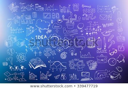 Foto d'archivio: Business · sviluppo · doodle · design · stile
