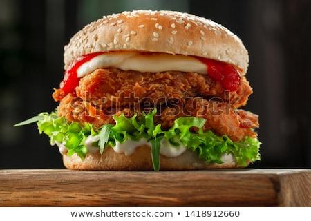 フライド チーズ マヨネーズ 食品 渦 ストックフォト © Digifoodstock