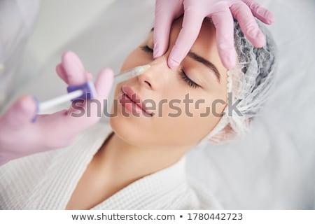Tratamiento liposucción cruz fondo belleza jóvenes Foto stock © kentoh