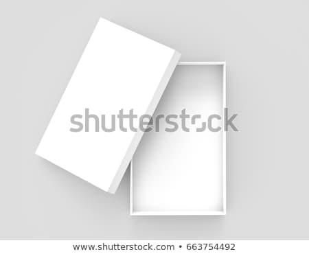 Depolama kutu yalıtılmış beyaz görmek Stok fotoğraf © cherezoff