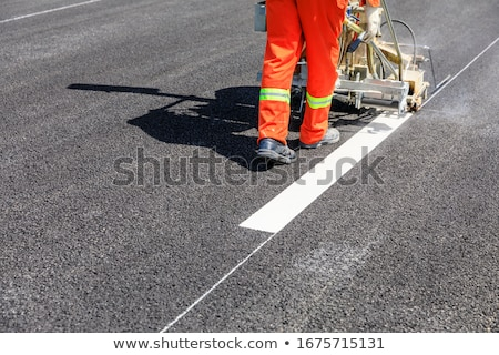 road construction and painting stock photo © blasbike