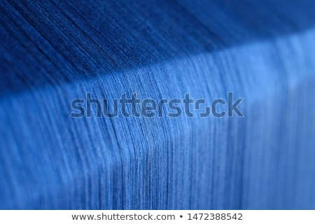 Silk thread on weaving tool Stock photo © Mikko