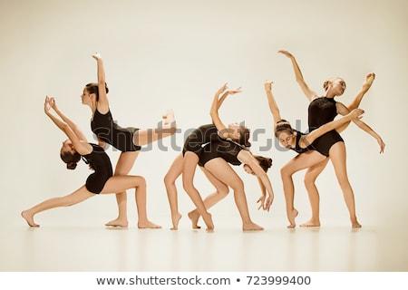 tánctér · mozgás · alacsony · lövés · emberek · tánc - stock fotó © master1305