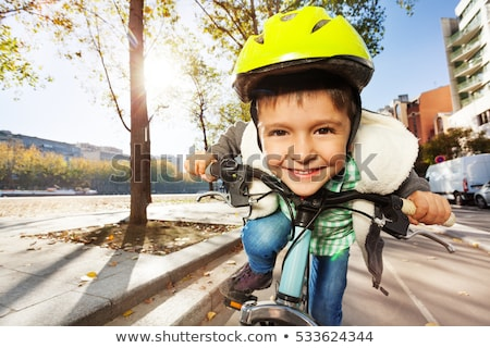 Bicycle rider 5 Stock photo © sifis
