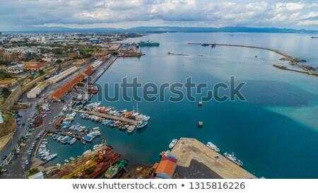 Castello porto Cipro cielo storia cancello Foto d'archivio © Kirill_M