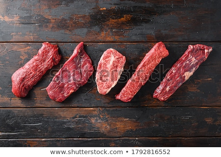 Different types of meats Stock photo © bluering