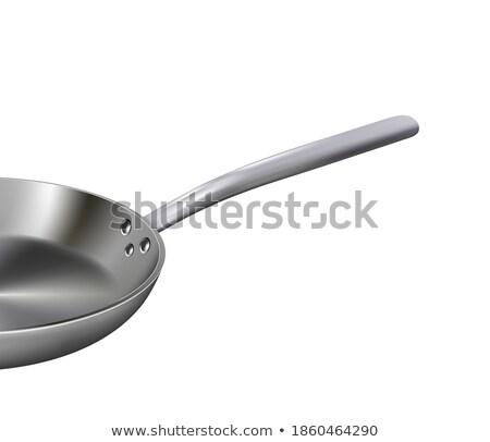 Roaster pan isolated. Kitchen utensils on white background. Cook Stock photo © popaukropa