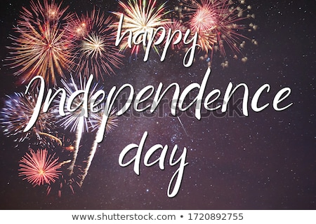 Happy 4th of July. Stock photo © Fisher