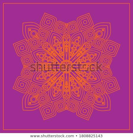 élégante dentelle ornement lieu texte floral Photo stock © maxmitzu