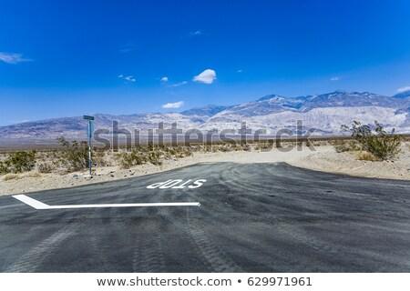 Condução morte vale pequeno alcance direção Foto stock © meinzahn