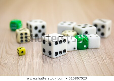 Stack of gaming dice Stock photo © Cipariss