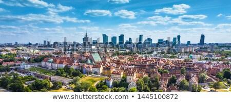 старый · город · Варшава · Польша · ночь · царя · колонки - Сток-фото © rognar