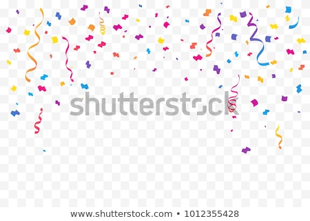 abstract tiny confetti transparent background stock photo © SArts