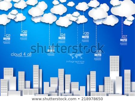 бизнеса · шаблон · макет · диаграмма - Сток-фото © davidarts