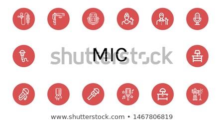 Modern lavalier sets Stock photo © frimufilms
