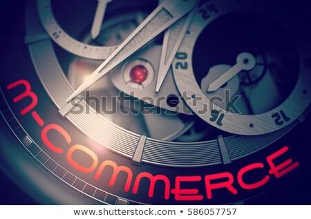 онлайн · оплата · ноутбука · бумажник · кредитных · карт · наличных - Сток-фото © tashatuvango
