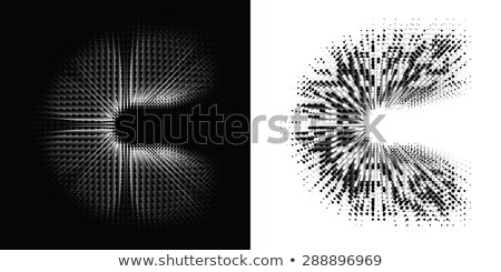 Spot the difference letters c Stock photo © Olena
