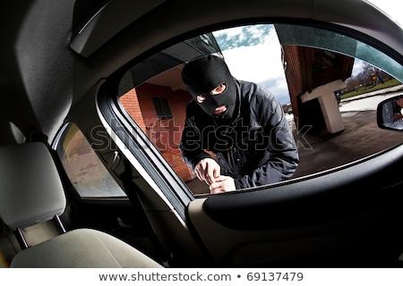Thief with a scumbag Stock photo © adrenalina