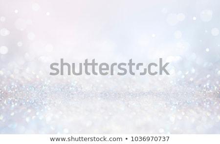 Noel ışıklar bağbozumu renkler soyut kış Stok fotoğraf © dariazu