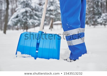 snow cleaning in winter Stock photo © ssuaphoto