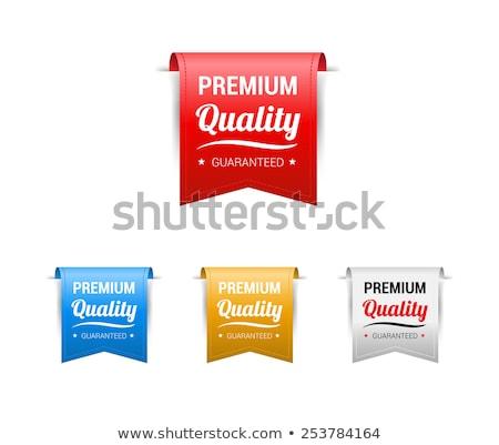 prêmio · qualidade · vetor · etiqueta · projeto · negócio - foto stock © SArts