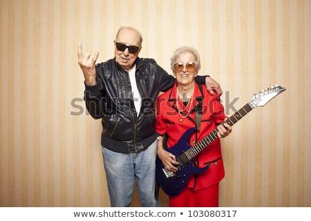 two old fashioned ladies stock photo © konradbak