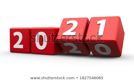 White cubes 2020 Stock photo © Oakozhan