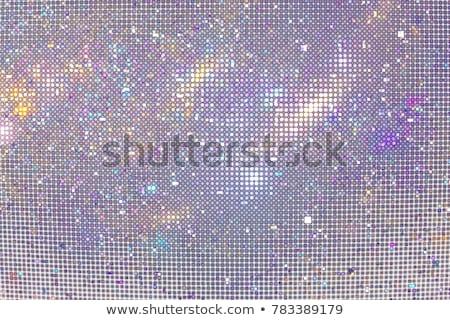 glitch star blue purple pink design Stock photo © romvo