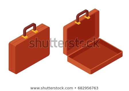 Açmak evrak çantası iş kalem dosya evrak Stok fotoğraf © IS2