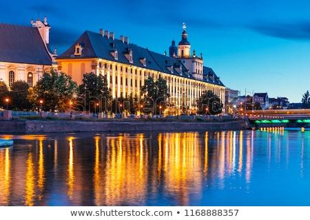 University Bridges in Wroclaw Stock photo © benkrut