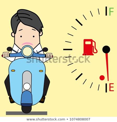 motoros · férfi · bicikli · sebesség · motorkerékpár · verseny - stock fotó © popaukropa