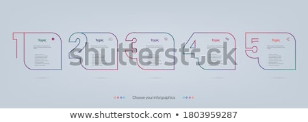 Сток-фото: Molecule Icon Or Circles For Infographics Vector Illustration Isolated On Modern Background