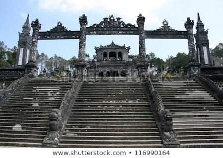 Вьетнам · вход · дворец · право · сторона - Сток-фото © romitasromala
