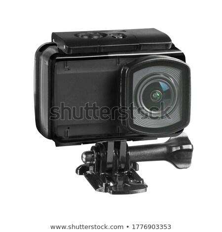 digital camera on white background isolated 3d illustration stock photo © iserg