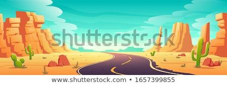 Desenho animado Nevada ilustração sorridente gráfico américa Foto stock © cthoman