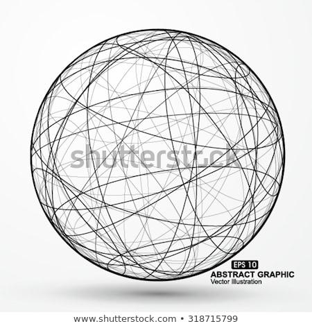 Three dimensional planets concept scene Stock photo © bluering