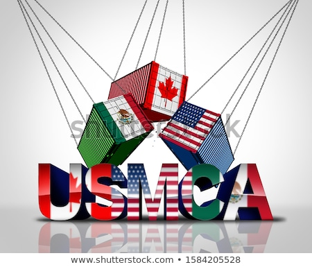 usmca trade agreement stock photo © lightsource