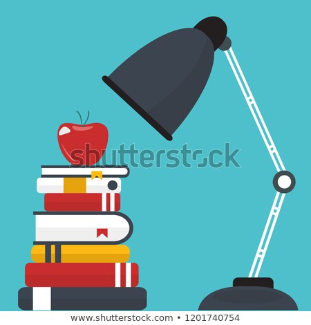 proper education icon concept for learning and knowledge flat vector illustration stock photo © makyzz