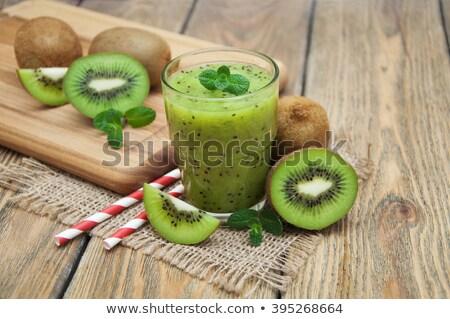 kiwi smoothie Stock photo © tycoon