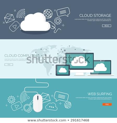 dossier · fichiers · documents · blanche · ordinateur · papier - photo stock © kyryloff