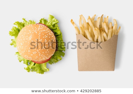 Chips in Package, Fast Food Unhealthy Potatoes Stock photo © robuart