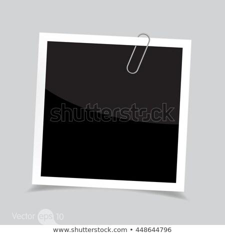 Paperclip - Photo Object Stock photo © CrackerClips