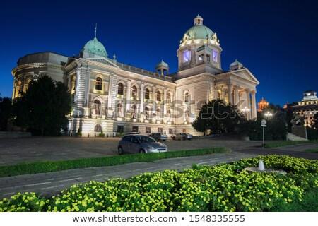 House of the National Assembly of Serbia, Belgrade Stock photo © borisb17
