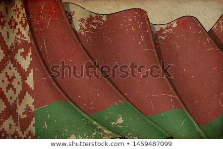 古い紙 印刷 フラグ ベラルーシ 実例 ストックフォト © nazlisart
