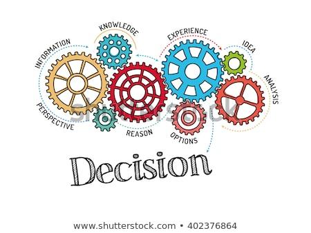 La toma de decisiones carrera oportunidad vida desarrollo Foto stock © RAStudio