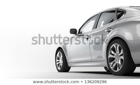 közlemény · ajándék · új · jármű · ajándék · izolált - stock fotó © arsgera