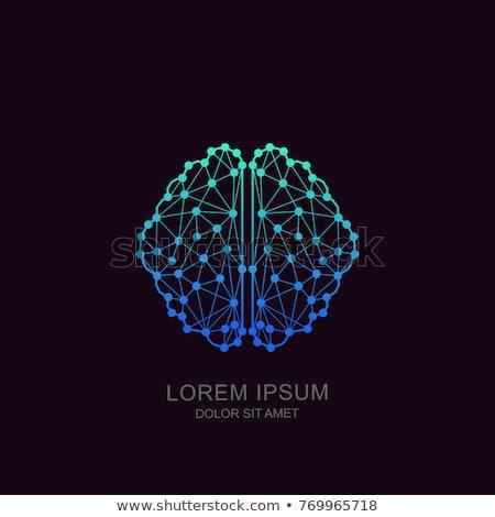 Foto stock: Inteligência · artificial · linha · modelo · projeto · negócio