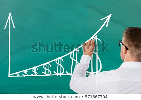 High Inflation Rate Graph Arrow Concept Stock photo © ivelin