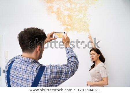 Man vrouw foto mensen toevallig Stockfoto © jossdiim