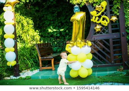 Baby Kind weiß Höschen Porträt Stock foto © ElenaBatkova